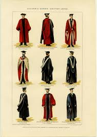 academic robes academic gowns usage universities this print