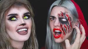 Werewolf Halloween Makeup by Little Red Riding Hood Big Bad Wolf Ft Grandma Ashtoberfest
