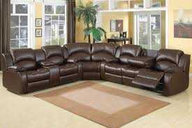 Leather Recliner Sectional Sofa Recliner Leather Sectional Sofa Furniture Ideas Eva Furniture