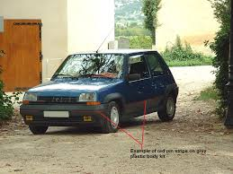 renault 5 how to identify a 1985 1987 renault 5 gt turbo phase 1