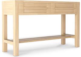 console 3 tiroirs console bois naturel 2 tiroirs scandinave lestendances fr