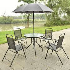 Patio Set Umbrella Patio Table Umbrella Ebay