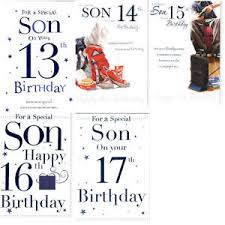 13th 14th 15th 16th or 17th birthday card page insert verse