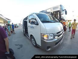 toyota van philippines xeon204 blogspot com travel boracay island from kalibo philippines