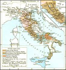 Italian Map Historical Maps Of Italy