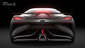 infinity car back infiniti concept vision gran turismo gran turismo com