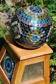 Gazing Ball And Stand 63 Best Mosaic Balls Images On Pinterest Mosaic Art Mosaic