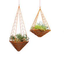 modern hanging planters hanging pendants u2014 hedge
