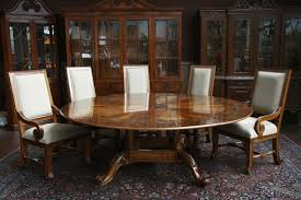 Large Wooden Dining Table by Round Dining Table Round Dark Brown U0026 Antique White Dining