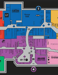 The Avenues Mall Map Ontario Mills Mall Map Map Western Europe