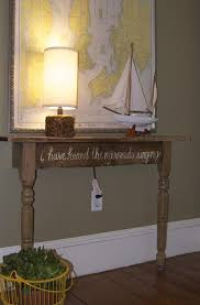 small foyer table ls diy hall table perfect for a small hallway the half of an old