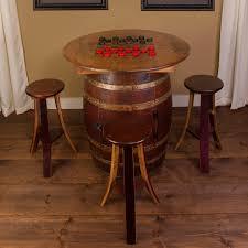 5 Piece Pub Table Set Napa East Collection Whiskey Barrel 5 Piece Pub Table Set