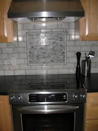 Kitchen Backsplash Accent Tile Mosaic Miniature Subway Tile Accent Piece With Pencil Edge