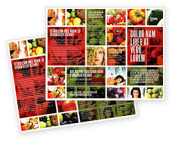 nutrition brochure template nutrition brochure template design and layout now 06856