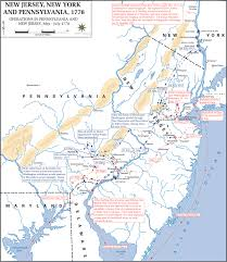 York Pennsylvania Map by Map Of The American Revolution May July 1778
