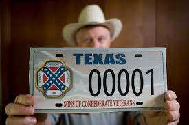 Battle Flag Of The Confederacy Supreme Court Says Texas Can Bar Confederate Flag License Plates