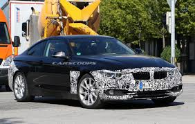 bmw 4 series spied with same subtle styling tweaks as facelifted 3