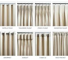 different curtain styles kinds of curtain design gopelling net