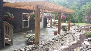 modern decoration patio trellis agreeable pergolas amp stone patio