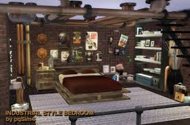 pqsims4 industrial style bedroom u2022 sims 4 downloads