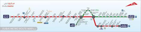 Cta Red Line Map Dubai Metro Route Map Day To Day Pinterest Dubai Travel