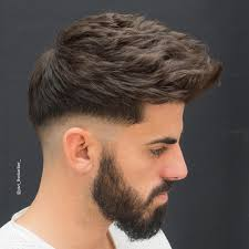 short haircuts when hair grows low on neck hairstyles for men with thick hair 2017