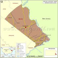 bucks county map bucks county map pennsylvania