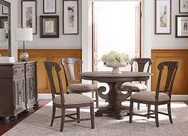 kincaid dining room furniture design center greyson round dining table by kincaid e f brannon furniture