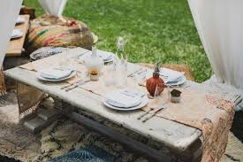 bohemian luxe interiors pearls to a picnic baby shower blog found vintage rentals