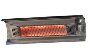 Short Patio Heater by Fire Sense 1500 Watt Electric Mounted Patio Heater U0026 Reviews Wayfair