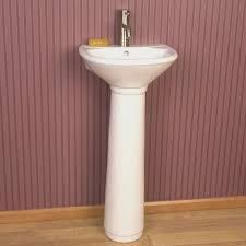 bathroom pedestal sinks for small bathrooms home design very