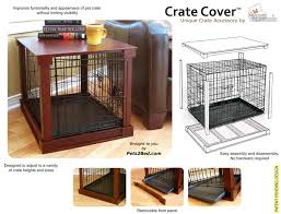 dog crate dog crate cover puppies pinterest crate its a space saver and actually doesnt look bad dog crate cover