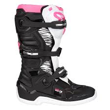 tech 10 motocross boots alpinestars girls mx boots stella tech 3 black white pink 2018