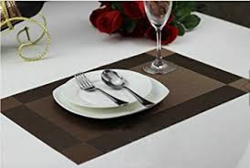 dining room placemats amazon com ayygift high quality dining room placemats heat