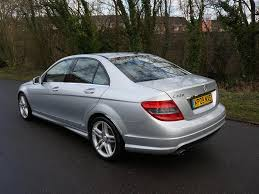 mercedes c220 amg sport saloon used 2009 mercedes c class c220 cdi sport for sale in