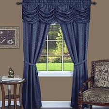Navy Window Curtains Navy Blue Tier Curtains
