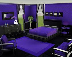 dark green and purple room house design ideas