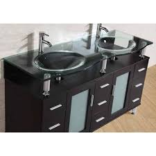inch freestanding double espresso wood bathroom vanity include