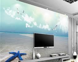 Cheap Wall Murals by Online Get Cheap Wall Murals Beach Aliexpress Com Alibaba Group
