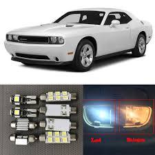 Dodge Challenger Interior Lights - aliexpress com buy 12pcs canbus car led light bulbs interior kit