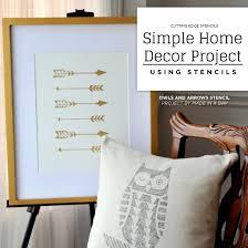 stencils for home decor simple home decor project using stencils stencil stories stencil