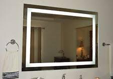 bathroom lighted mirrors ebay