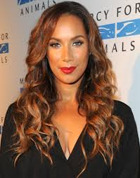 leona lewis looking super scary in her medusa costume in the
