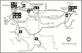 Washington Trail Maps by Olympic Maps Npmaps Com Just Free Maps Period