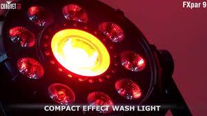 chauvet dj fxarray q5 effect light chauvet dj fxpar 9 compact multi effect par light youtube