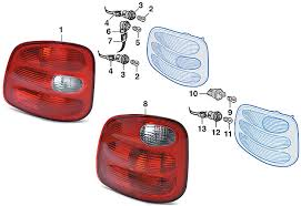 ford lightning tail lights tail light flareside 1997 03 ford f150 1999 00 lightning2004