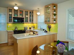 best kitchen u shaped design in small space with wooden cabinets fabulous u shaped kitchen design with green lighting and black stove