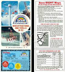 Discounted Six Flags Tickets Six Flags Great Adventure Funseeker Cards