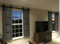 mini barn door shutters perfect for small spaces sliding barn