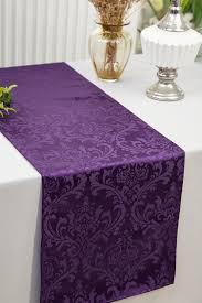 jacquard damask polyester table runners wedding table runner wholesale